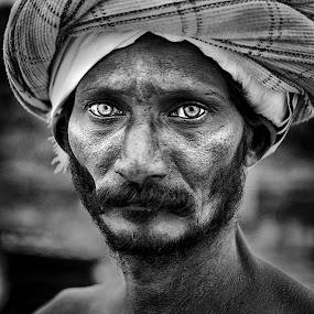 by Sudharshun Gopalan - People Portraits of Men