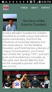 The Sideline Dissident - screenshot