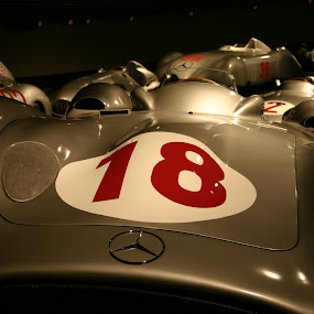 Mercedes race by Daniela Murat - Artistic Objects Other Objects