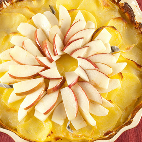 Apple and Sage Scalloped Potatoes