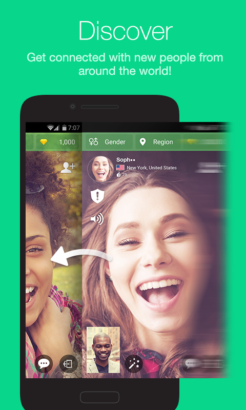Azar-Video Chat&Call,Messenger Screenshot 0