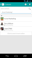 Screenshot of WORKetc CRM + Projects + More