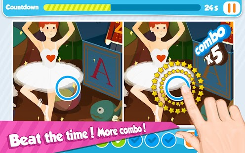 Bedtime Stories Toys Spot Game - screenshot