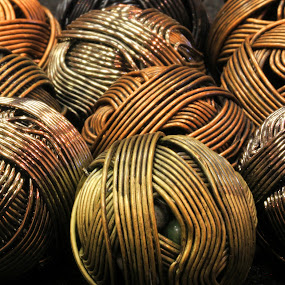 Metal Doodads by Judy Florio - Artistic Objects Other Objects ( macro, balls, metal, high f/stop, objects,  )