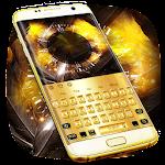 Gold Luxury Metal Keyboard Theme Icon