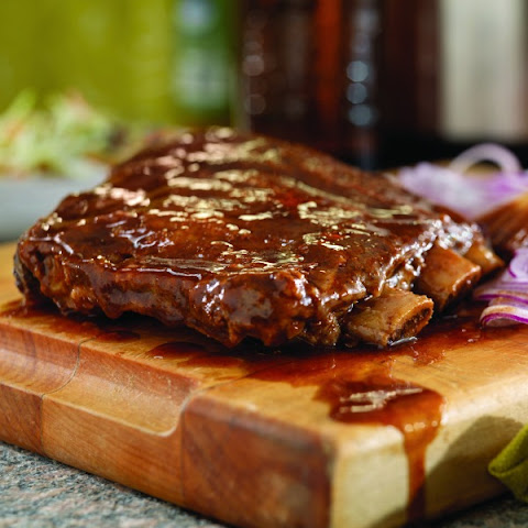 Slow-Cooker Root Beer Ribs