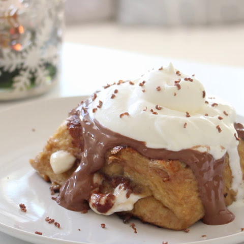 Hot Chocolate French Toast