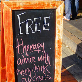 Free Therapy by Marsha Sices - Food & Drink Alcohol & Drinks (  )