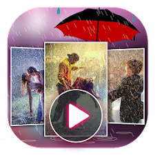 Rain Photo Video Maker