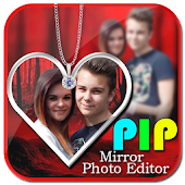 Download PIP Mirror Photo Editor: collage, pip camera, arts APK on PC