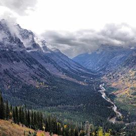 Glacier by Dave Bower - Landscapes Mountains & Hills