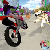 Download Wild Animal Vs Bike Adventure APK to PC