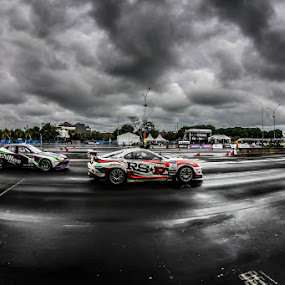 Cloudy Drift by Kèn Nugraha - Sports & Fitness Motorsports ( racing, cloudy, drift, competition )