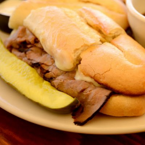 Hot Roast Beef Hoagie