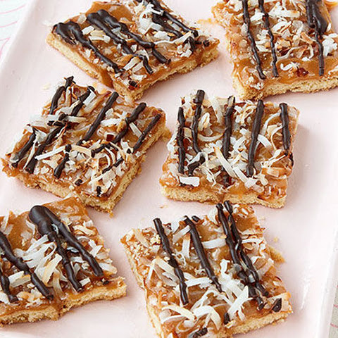 Caramel-Chocolate Cookie Bars