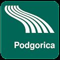 Android aplikacija Podgorica Map offline na Android Srbija