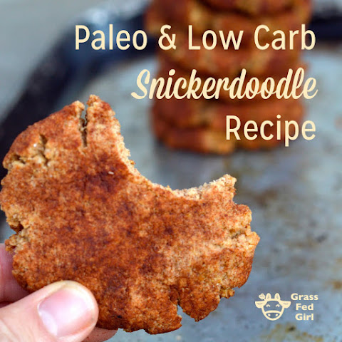 Paleo and Low Carb Snickerdoodle Recipe (gluten free and grain free)