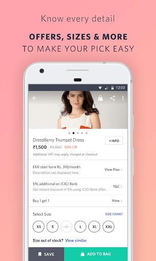 Myntra Online Shopping App screenshot 4