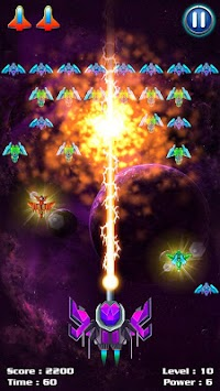 Galaxy Attack: Alien Shooter APK screenshot thumbnail 6