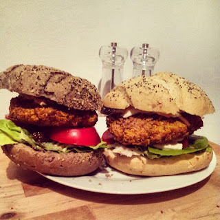 Chickpea And Coriander Burgers Recipes