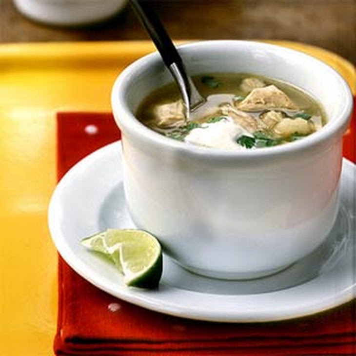 Posole (Tomatillo, Chicken, and Hominy Soup) Recipe | Yummly