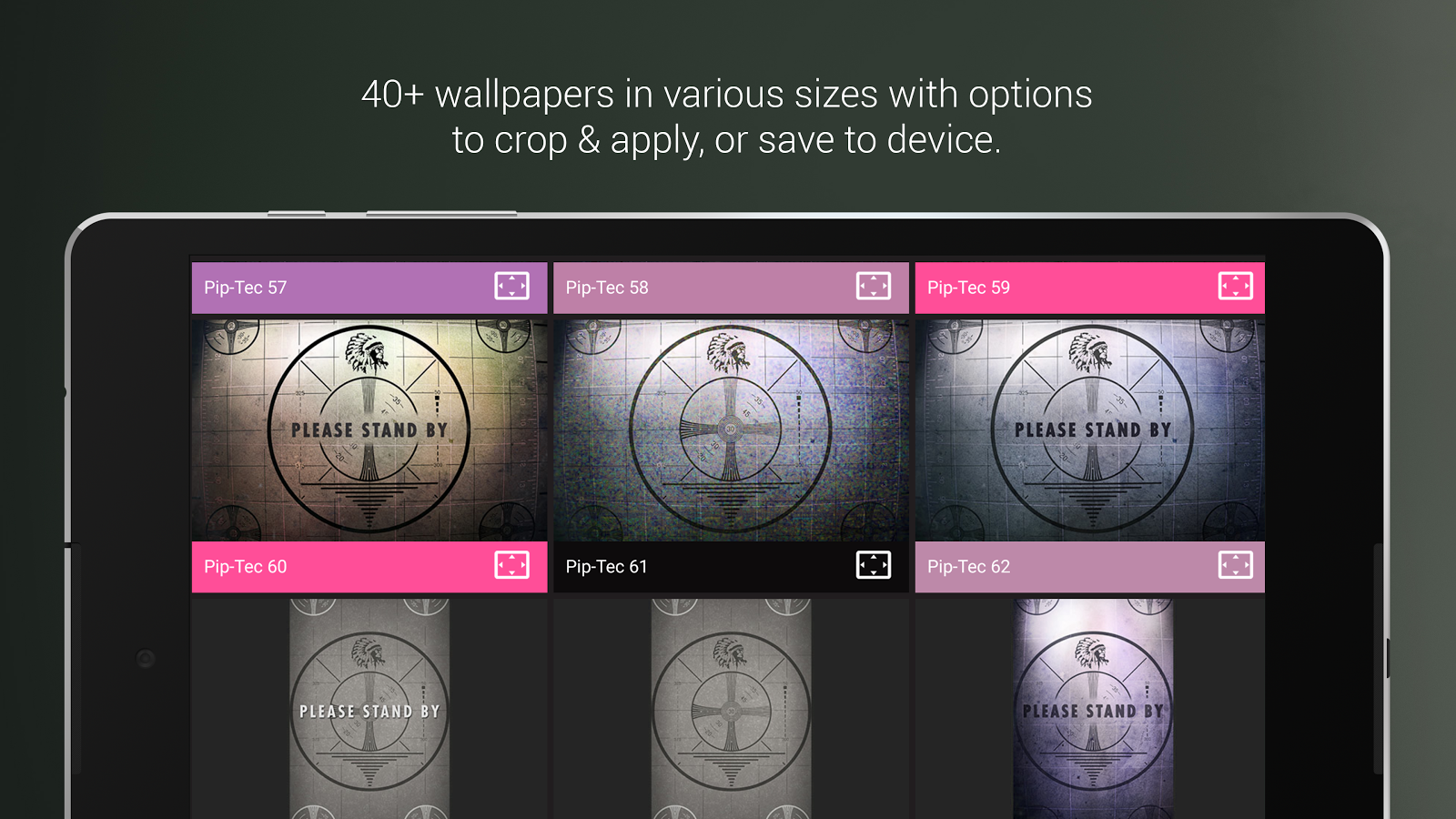 PipTec Pink Icons & Live Wall Screenshot 13