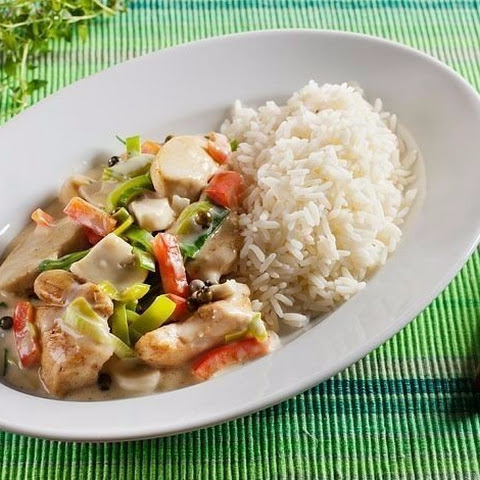 Diet Chicken With Vegetables And Rice