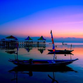 Blue sky - Kenjeran  by Rafael Widya Wiryawan - Landscapes Sunsets & Sunrises