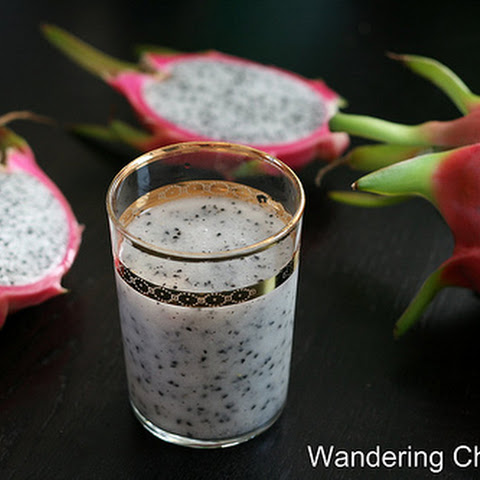 Sinh To Thanh Long (Vietnamese Dragon Fruit Shake)