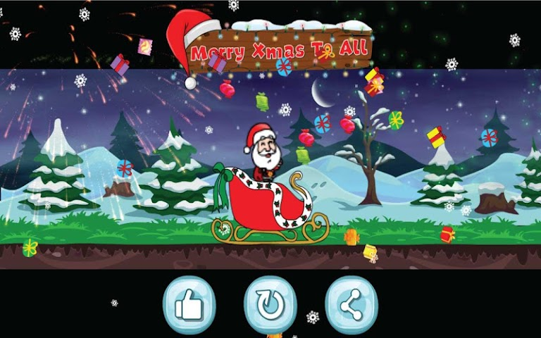 android Santa Christmas Run Screenshot 9