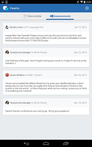 Edmodo for Parents screenshot 8