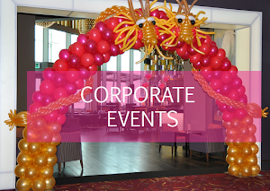 Corporate Events Balloon Decor | Balloon Artists UK | Top Balloon UK