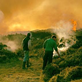 Men of Fire by Alex Graeme - People Street & Candids