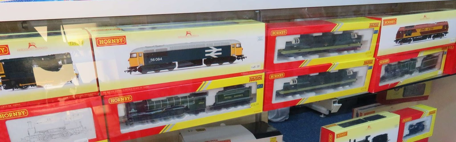 Model train selection in Banbury