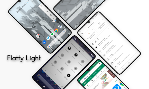 Flatty Light ○ Substratum theme Screenshot