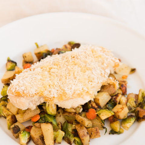Healthy Hummus Chicken and Hash