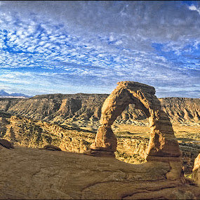 by Bruce Martin - Landscapes Mountains & Hills ( film, utah, panrama, arch park )