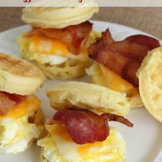 Waffle Breakfast Sandwich Recipes