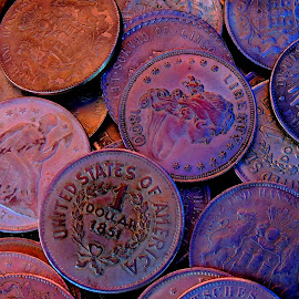 old coins  by Darko Čaleta - Artistic Objects Other Objects
