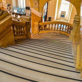 Governor's palace ..., Rijeka/Croatia by Slavko Marčac - Buildings & Architecture Other Interior ( palace, croatia, stairs )