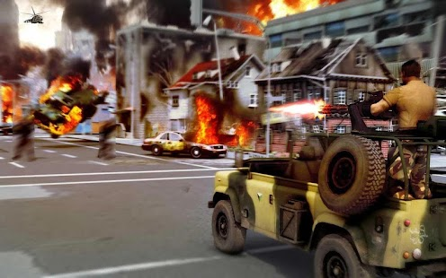 Game US ARMY: GUNNER BATTLE CITY apk for kindle fire
