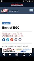 Screenshot of KSAT 12 Big Game Coverage
