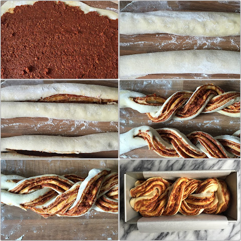 Sun-dried Tomato Pesto Babka