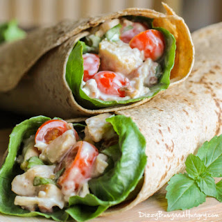 Blue Cheese Chicken Wrap Recipes
