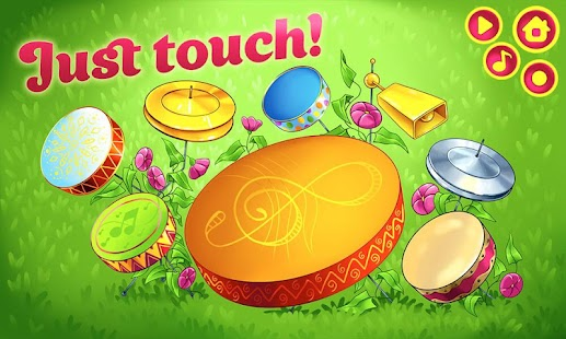 Drums for Toddlers, Kids - Music Game with Animals- screenshot