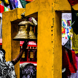 A large bell by Sagar Biswas - Buildings & Architecture Places of Worship
