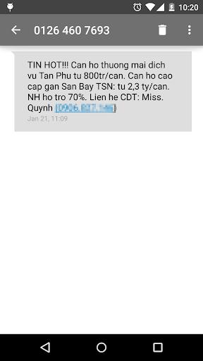 Laban SMS: spam blocker screenshot 7