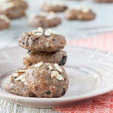 Chocolate Almond Cherry Power Cookies
