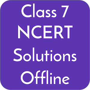 Class 7 NCERT Solutions Offline For PC