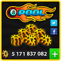 Coins For 8 Ball Pool Prank APK for Bluestacks